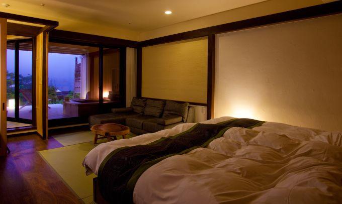 1階 ベッドタイプ テラス付き