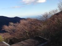 箱根連山・相模湾綺麗です。