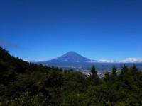 「今朝の富士山」(The Clear Sky after The Storm)