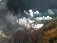 「大涌谷の様子」(Sulphur Valley)