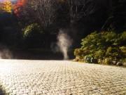 「ほっこりする風景」(The Steam of Hot Spring)