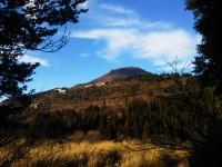 「晩秋の駒ヶ岳」(Mt. Komagatake)