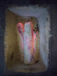 「熱い写真」(Charcoal Stove)