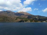 【箱根の駒ヶ岳(Mt. Komagatake in Hakone)】