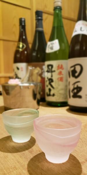 「日本酒」(Japanese Sake)