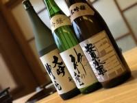 「青森のお酒」(Japanese sake made in Aomori)