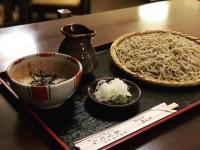 """「そば処 """"奈可むら""""」 (Soba noodles)"""