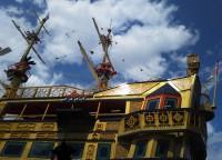 「新しい海賊船」(New Pirate Ship; Queen Ashinoko)
