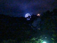 「大文字焼」(Daimonjiyaki fireworks)