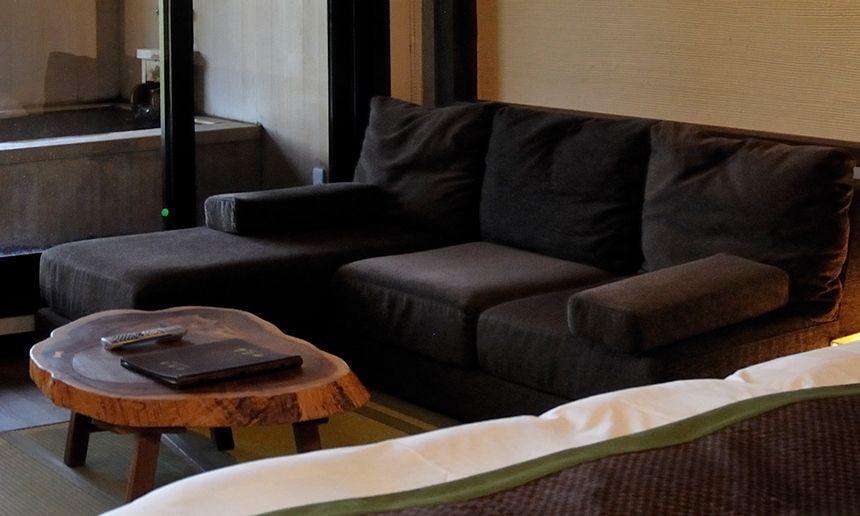 くつろぎのソファー