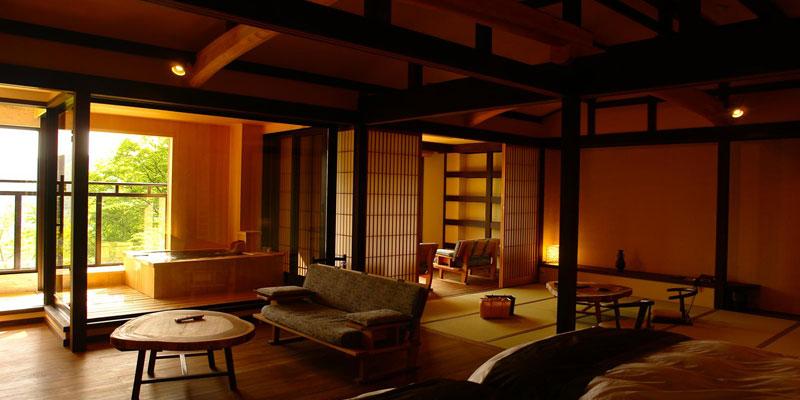 露天風呂 露天風呂付き客室 高級 : 日本が世界に誇れるおもてなし ...