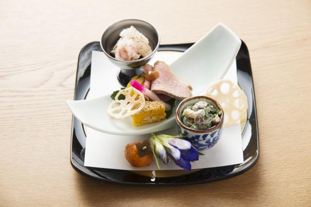 【円かの杜の夕食 霜月の前菜】
